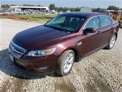 2012 Ford Taurus 4 Door Sedan