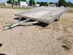 2013 Aluma 8612T/13 Aluminum Snowmobile Trailer