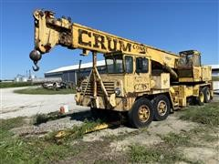 1970 Grove TM275LP Hydraulic Truck Crane