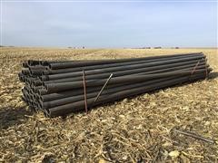 """6"""" Non-Gated Aluminum Irrigation Pipe, Shut-Offs & Connections"""