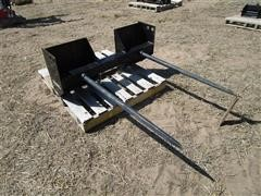 Mahindra Skid Steer Double Spear Bale Fork