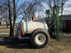 Kinze Tow Cart & Top-Air 3-Pt Boom