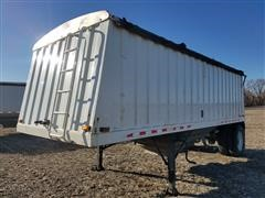 1999 Jet Co Hopper Bottom Grain Trailer