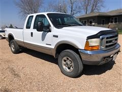 1999 Ford F250 Lariat 4x4 Extended Cab Diesel Pickup