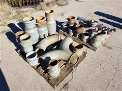 """8"""" Irrigation Pipe Fittings & Adapters"""