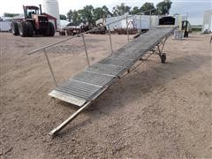 "23'X36"" Portable Adjustable Handicap Ramp"