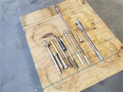 "Snap-On 3/4"" Ratchet And Breaker Bars"