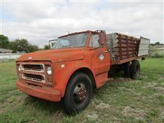 1971 Chevrolet C50 Flatbed/Dump Bed Truck