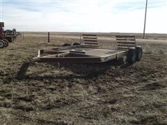 Jantz ST 12 Swather Trailer