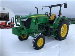 2013 John Deere 6105D 2WD Tractor