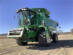 2007 John Deere 9660 STS 2WD Combine