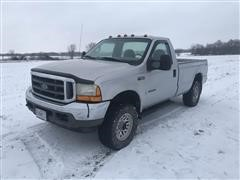 2001 Ford F250 4X4 7.3L Powerstroke Pickup