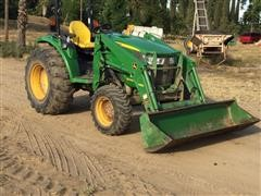 2015 John Deere 4066R Open Station Loader Tractor