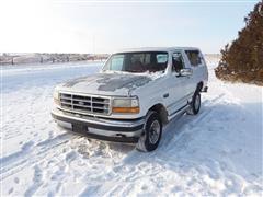 1993 Ford Bronco 4x4 Utility SUV