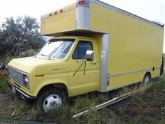 1990 Ford Econoline 350 2WD Van Truck