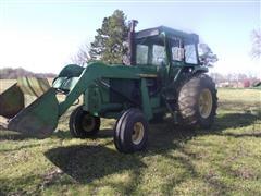 John Deere 4430 2WD Tractor W/Loader