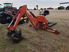 Case International BMX130 Utility Tractor Backhoe Attachment