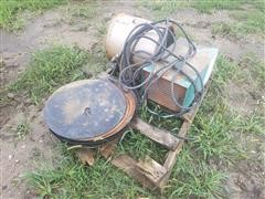Aeriation Fan/Disc Blades & Welder