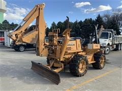 2009 Astec RT960 4x4x4 Trencher/Backhoe/Blade