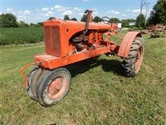 1937 Allis-Chalmers WC 2WD Tractor