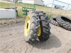 Goodyear 9.5-24 Tires On JD Rims