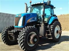 2009 New Holland T8040 MFWD Tractor