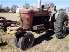 Farmall M 2WD Tractor W/Shredder