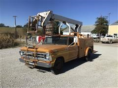 1971 Ford F350 2WD Bucket Truck