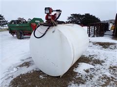 1000-Gal Fuel Tank W/Fill-Rite Pump & Meter