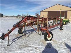 H&S BF22HC 12 Wheel Rake
