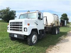 1979 International F2275 T/A Water Tender Truck