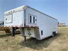 1999 Elite ELC828TA5 T/A Gooseneck Enclosed Cargo Trailer