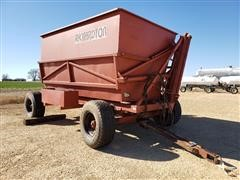 Richardton 770 Side Dump Forage Wagon