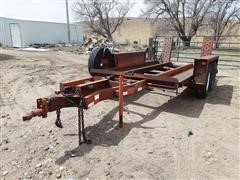 1978 DitchWitch T8 T/A Trencher Trailer