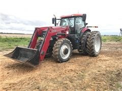 2014 Case IH Puma 170 CVT MFWD Tractor W/Case IH L765 Loader