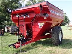 2005 J&M 750-14 Grain Cart W/Scale