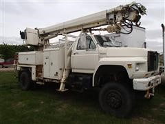 1988 Ford F-800 Digger Derrick Truck