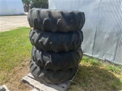 Firestone 14.9-24 Tires On 8-Bolt Rims