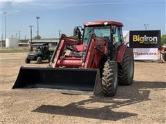 2017 Mahindra MF1054CSAL MFWD Tractor W/Loader