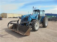 1992 Ford 8340 MFWD Tractor W/Great Bend Loader