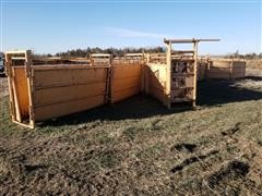 For-Most Cattle Working Tub And 2-way Working Alley And Load Out