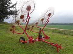 Tonutti RCS 10 Wheel Hay Rake