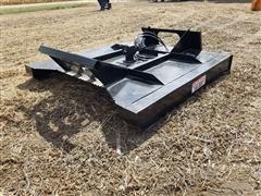 2020 Brute Hydraulic Brush Mower Skid Steer Attachment