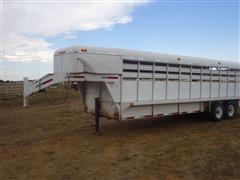 2005 Coose 24' GN Steel T/A Livestock Trailer