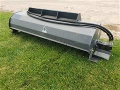2019 Wolverine 6' Wide Tiller Skid Steer Attachment