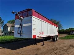 2015 MAS 36' T/A Silage Trailer