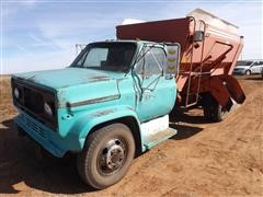 1981 Chevrolet C60 Feeder Truck W/Oswald Ensilmixer 320