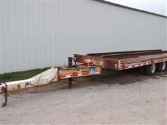 1990 Trail-Eze D15T25 Flatbed Trailer