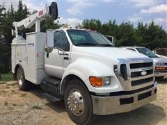 2007 Ford F-650 Service Truck