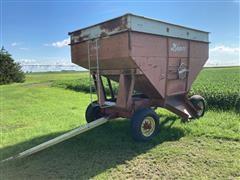 Demco Side-Dump Gravity Wagon On 12-Ton Gear